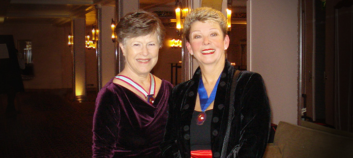 Christine Akehurst and Lynne O'Hara